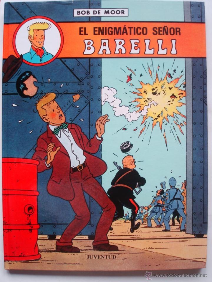 Cómics: El enigmàtico Señor Barelli - Colección COMPLETA 5 tomos (3 en castellano y 2 en catalán) Juventud - Foto 2 - 49655661