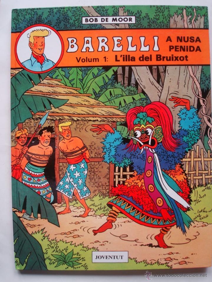 Cómics: El enigmàtico Señor Barelli - Colección COMPLETA 5 tomos (3 en castellano y 2 en catalán) Juventud - Foto 3 - 49655661
