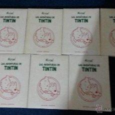 Cómics: TINTIN COLECCION COMPLETA 7 TOMOS JUVENTUD 1993 1999 GUAFLEX. Lote 49792555