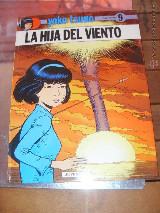 YOKO TSUNO.Nº 9. LA HIJA DEL VIENTO. JUVENTUD EDICION 1989 (Tebeos y Comics - Juventud - Yoko Tsuno)