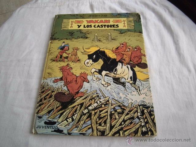 YAKARI Y LOS CASTORES Nº 3.EDITORIAL JUVENTUD 1ª EDICION 1980 (Tebeos y Comics - Juventud - Yakary)