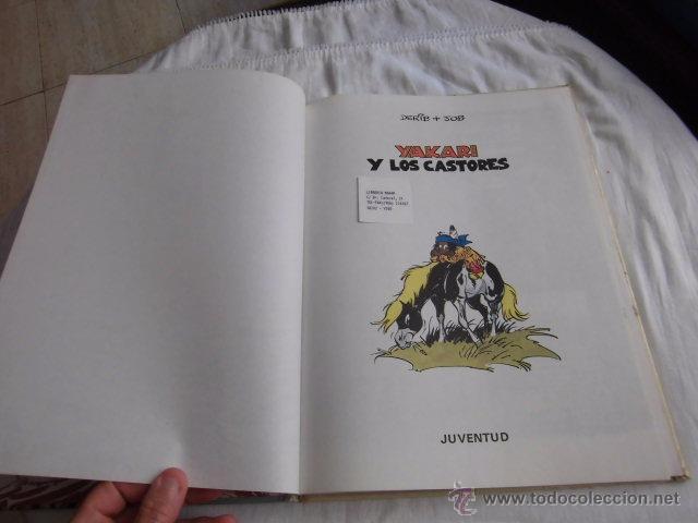 Cómics: YAKARI Y LOS CASTORES Nº 3.EDITORIAL JUVENTUD 1ª EDICION 1980 - Foto 4 - 207234337