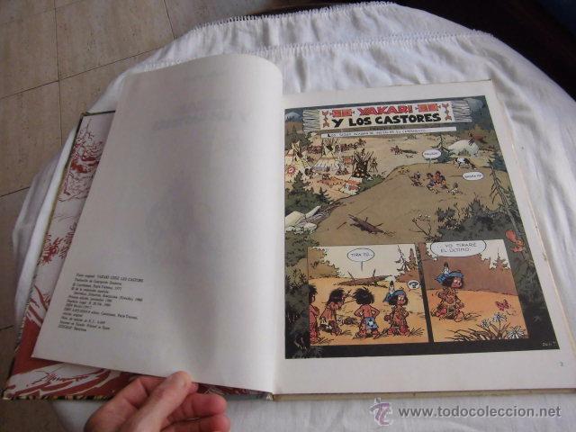 Cómics: YAKARI Y LOS CASTORES Nº 3.EDITORIAL JUVENTUD 1ª EDICION 1980 - Foto 5 - 207234337