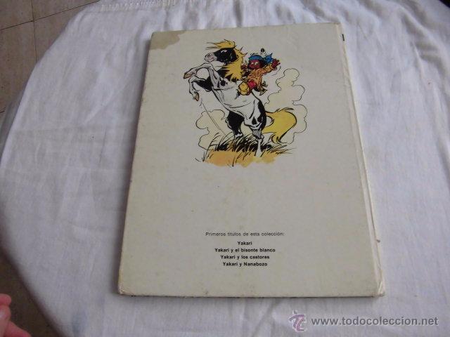 Cómics: YAKARI Y LOS CASTORES Nº 3.EDITORIAL JUVENTUD 1ª EDICION 1980 - Foto 8 - 207234337