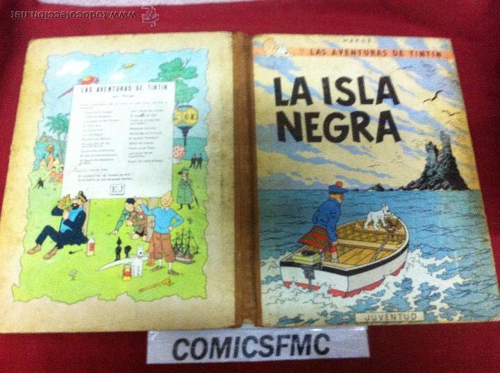 Cómics: JUVENTUD - LA ISLA NEGRA TERCERA EDICION DE 1969 - Foto 3 - 50261323