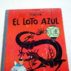 Fumetti: TEBEO, TINTIN, EL LOTO AZUL, EDITORIAL JUVENTUD, PRIMERA EDICION, 1965. Lote 50268092