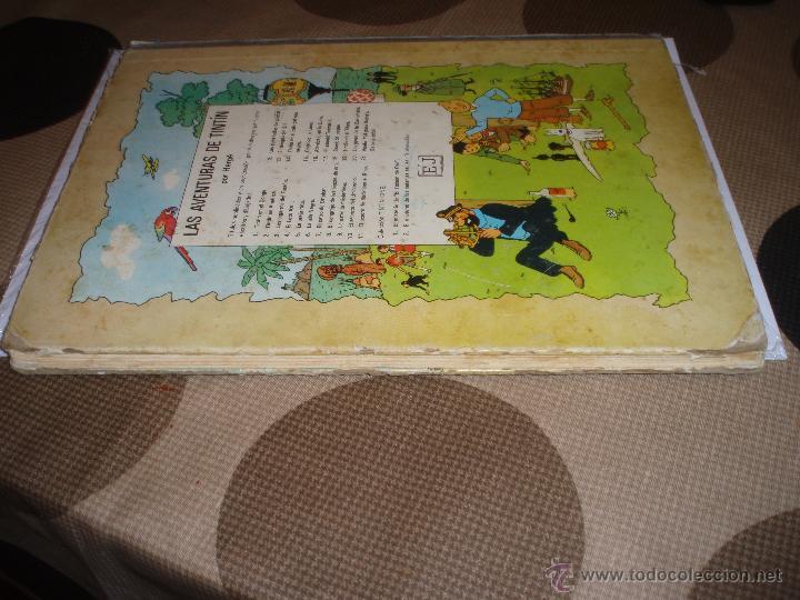 Cómics: tintin en el congo primera edicion 1968 usado - Foto 2 - 50274152