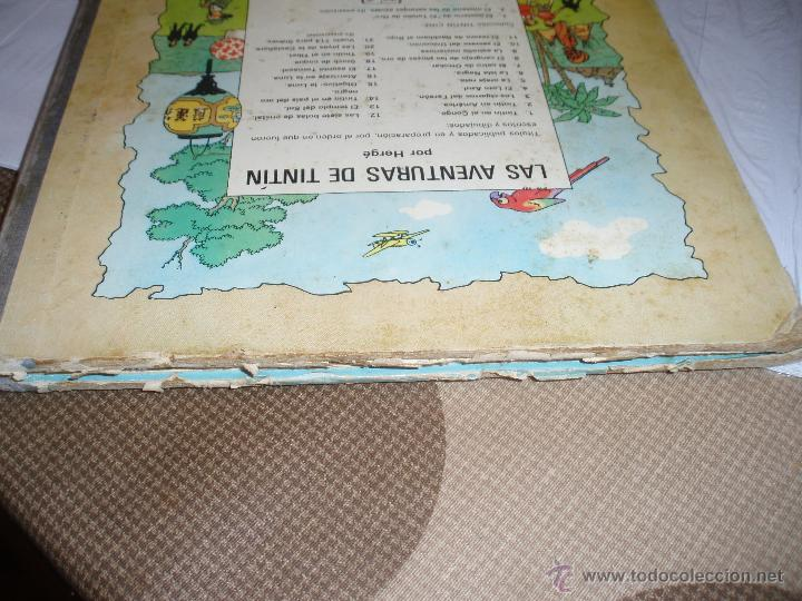 Cómics: tintin en el congo primera edicion 1968 usado - Foto 3 - 50274152