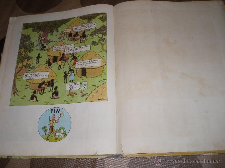 Cómics: tintin en el congo primera edicion 1968 usado - Foto 5 - 50274152