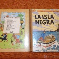 Cómics: TINTÍN - JUVENTUD - LA ISLA NEGRA - 2ª SEGUNDA EDICIÓN - ENERO 1967 - BUEN ESTADO. Lote 50283176