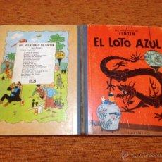 Cómics: TINTÍN - JUVENTUD - EL LOTO AZUL - 1ª - PRIMERA EDICIÓN 1965 - BUEN ESTADO. Lote 50296005