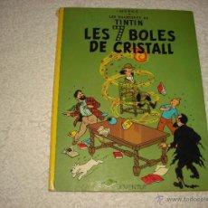 Cómics: TINTIN LES 7 BOLES DE CRISTALL , 1983 CINQUENA EDICIO. Lote 50550850