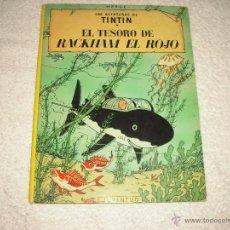 Comics: TINTN EL TESORO DE RACKHAM EL ROJO , SEPTIMA EDICION 1979. Lote 50550882