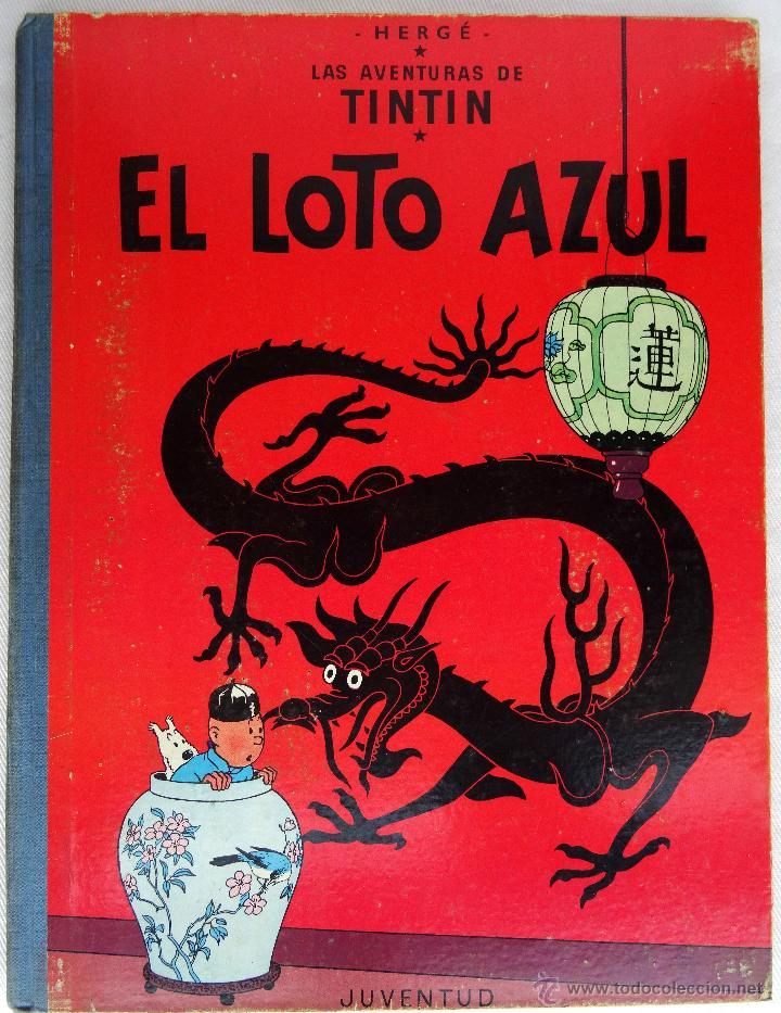TINTIN EL LOTO AZUL 1ª EDICIÓN (Tebeos y Comics - Juventud - Tintín)