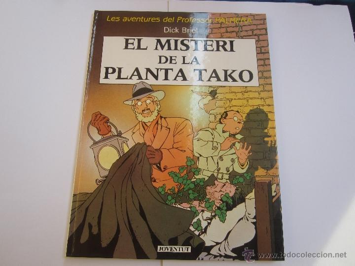 LES AVENTURES DEL PROFESSOR PALMERA - EL MISTERI DE LA PLANTA TAKO - JOVENTUT - EN CATALÀ 1º EDICIÓ (Tebeos y Comics - Juventud - Otros)