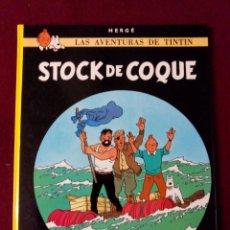 Cómics: TINTIN .- STOCK DE COQUE .- EDITORIAL JUVENTUD 1989. Lote 50718876