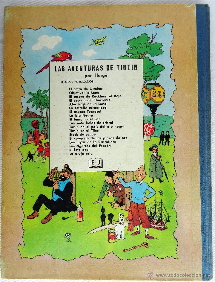 Cómics: Tintin El Loto Azul 1ª Edición - Foto 4 - 50681289