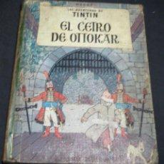 Cómics: LAS AVENTURAS DE TINTÍN EL CETRO DE OTTOKAR EDITORIAL JUVENTUD AÑO 1964 2ª EDICIÓN. Lote 50830896