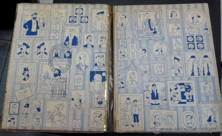Cómics: LAS AVENTURAS DE TINTÍN EL CETRO DE OTTOKAR EDITORIAL JUVENTUD AÑO 1964 2ª EDICIÓN - Foto 2 - 50830896