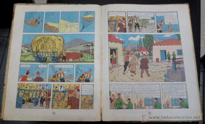 Cómics: LAS AVENTURAS DE TINTÍN EL CETRO DE OTTOKAR EDITORIAL JUVENTUD AÑO 1964 2ª EDICIÓN - Foto 3 - 50830896