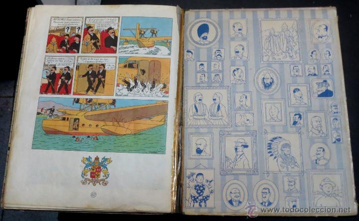 Cómics: LAS AVENTURAS DE TINTÍN EL CETRO DE OTTOKAR EDITORIAL JUVENTUD AÑO 1964 2ª EDICIÓN - Foto 4 - 50830896