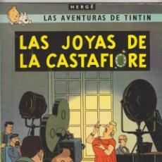 Cómics: TINTIN. LAS JOYAS DE LA CASTAFIORE, 4ª EDICIÓN JUVENTUD 1974.. Lote 50861705