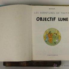 Cómics: 5251- OBJECTIF LUNE. HERGE. EDIT. CASTERMAN. PRIMERA EDICION EN FRANCES. 1953.. Lote 113320722