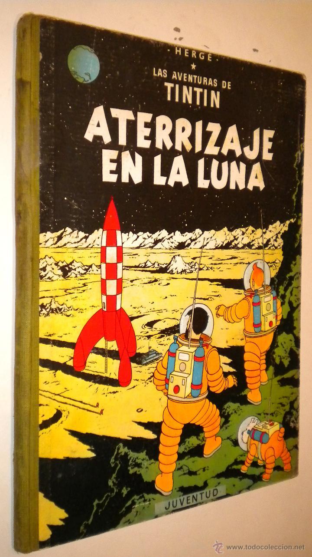 LAS AVENTURAS DE TINTIN ATERRIZAJE EN LA LUNA / HERGE / 1965 (Tebeos y Comics - Juventud - Tintín)