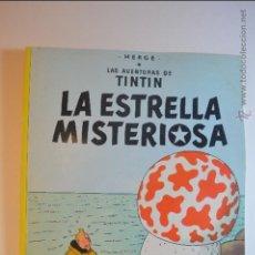 Cómics: TIN TIN - LA ESTRELLA MISTERIOSA - JUVENTUD - HERGE - NOVENA EDICION - 1982 - TINTIN. Lote 51253964