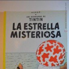 Cómics: TIN TIN - LA ESTRELLA MISTERIOSA - JUVENTUD - HERGE - 23 EDICION - 2003 - TINTIN. Lote 115828270
