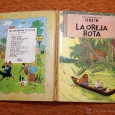 Cómics: TINTÍN - JUVENTUD - LA OREJA ROTA - 1ª PRIMERA EDICIÓN - 1965 - BUENO. Lote 51379165
