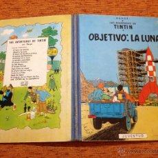 Comics : TINTÍN - JUVENTUD - OBJETIVO LA LUNA - 2ª SEGUNDA EDICIÓN - 1964. Lote 49900934