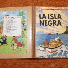Cómics: TINTÍN - JUVENTUD - LA ISLA NEGRA - 2ª SEGUNDA EDICIÓN - 1967 - BUENO. Lote 51380614