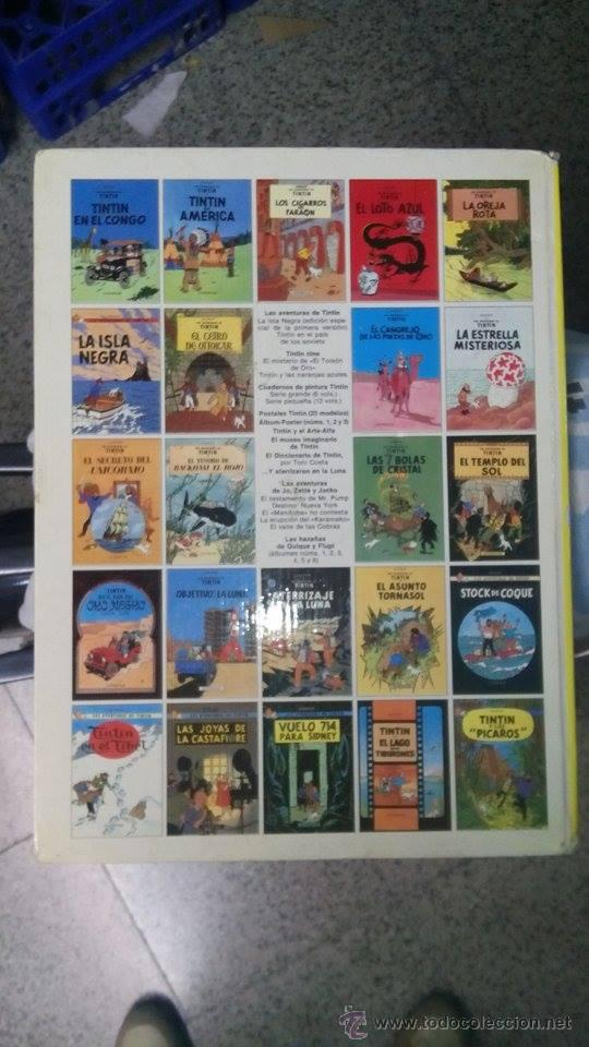 Cómics: TINTIN EL CETRO DE OTTOKAR - ED.JUVENTUD 1988 (TAPA DURA) - Foto 5 - 25958410