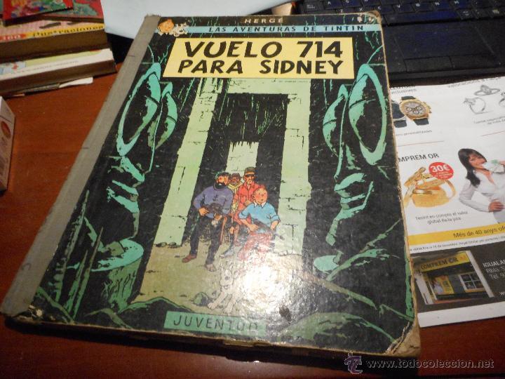 PRIMERA EDICION VUELO 714 PARA SIDNEY 1969 TINTIN (Tebeos y Comics - Juventud - Tintín)