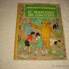 Cómics: LAS AVENTURAS DE JO, ZETTE Y JOCKO EL MANITOBA NO CONTESTA 1971. Lote 51674610