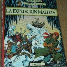 Cómics: CORI EL GRUMETE: LA EXPEDICIÓN MALDITA (BOB DE MOOR), ED. JUVENTUD 1ª EDICIÓN 1989, TAPA DURA.PERFEC. Lote 51696589