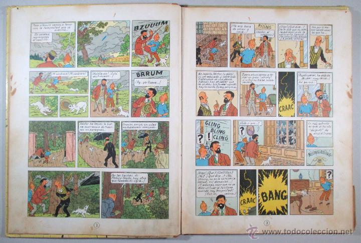 Cómics: TINTIN - EL ASUNTO TORNASOL - HERGÉ - SEGUNDA EDICIÓN, 1965 - ED. JUVENTUD - Foto 7 - 57577955
