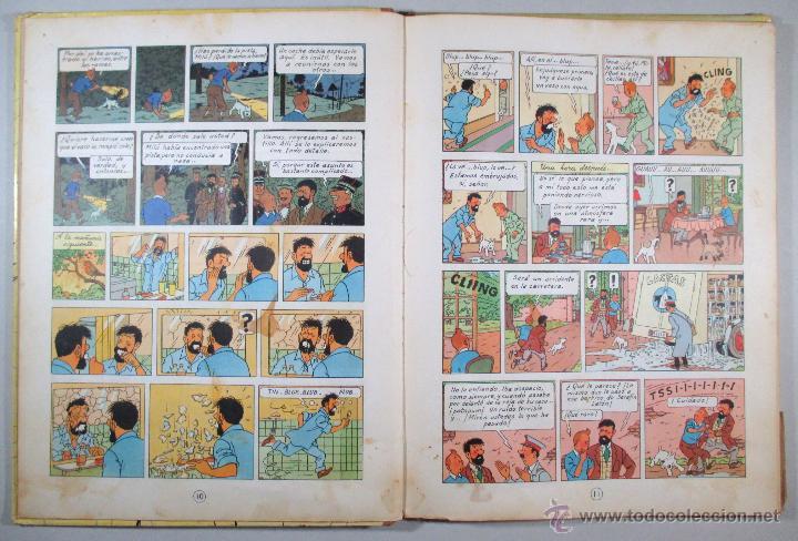 Cómics: TINTIN - EL ASUNTO TORNASOL - HERGÉ - SEGUNDA EDICIÓN, 1965 - ED. JUVENTUD - Foto 8 - 57577955
