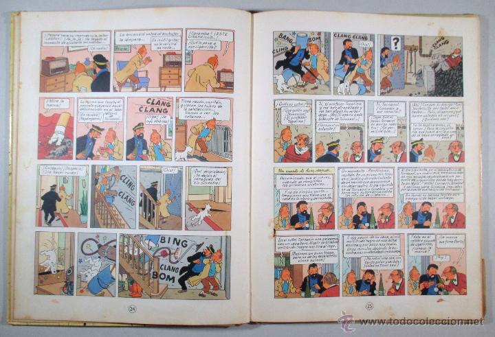 Cómics: TINTIN - EL ASUNTO TORNASOL - HERGÉ - SEGUNDA EDICIÓN, 1965 - ED. JUVENTUD - Foto 9 - 57577955