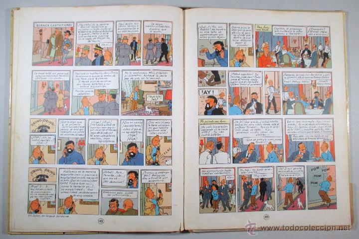 Cómics: TINTIN - EL ASUNTO TORNASOL - HERGÉ - SEGUNDA EDICIÓN, 1965 - ED. JUVENTUD - Foto 10 - 57577955