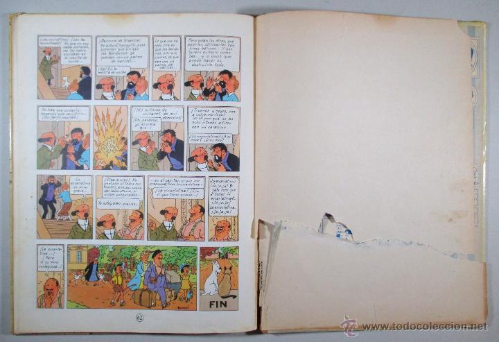 Cómics: TINTIN - EL ASUNTO TORNASOL - HERGÉ - SEGUNDA EDICIÓN, 1965 - ED. JUVENTUD - Foto 11 - 57577955