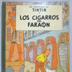 Comics - TINTIN - LOS CIGARROS DEL FARAÓN - HERGÉ - TERCERA EDICIÓN, 1968 - ED. JUVENTUD - 51739453