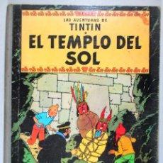 Cómics: TINTIN - EL TEMPLO DEL SOL - HERGÉ - CUARTA EDICIÓN, 1969 - ED. JUVENTUD. Lote 51739501