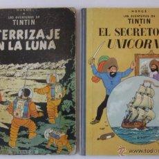 Cómics: ATERRIZAJE EN LA LUNA Y EL SECRETO DEL UNICORNIO. Lote 51783476