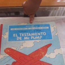 Cómics: M69 LAS AVENTURAS DE JO, ZETTE Y JOCKO EL TESTAMENTO DE MRPUMP EPIS.1 PRIMERA EDICION JUVENTUD 1970. Lote 51784420