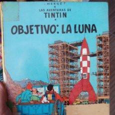 Cómics: TINTIN OBJETIVO LA LUNA1976. Lote 51794454