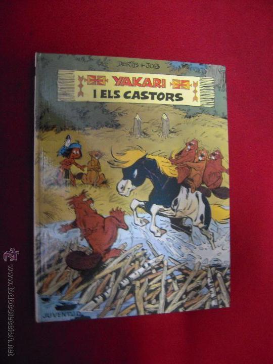 YAKARI 3 - YAKARI I ELS CASTORS - DERIB & JOB - CARTONE - EN CATALAN (Tebeos y Comics - Juventud - Yakary)