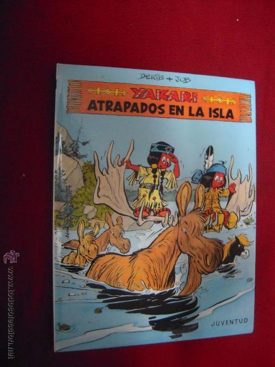YAKARI 9 - YAKARI ATRAPADOS EN LA ISLA - DERIB & JOB - CARTONE (Tebeos y Comics - Juventud - Yakary)