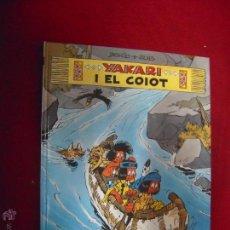 Cómics: YAKARI 12 - YAKARI I EL COIOT - DERIB & JOB - CARTONE - EN CATALAN. Lote 51920401